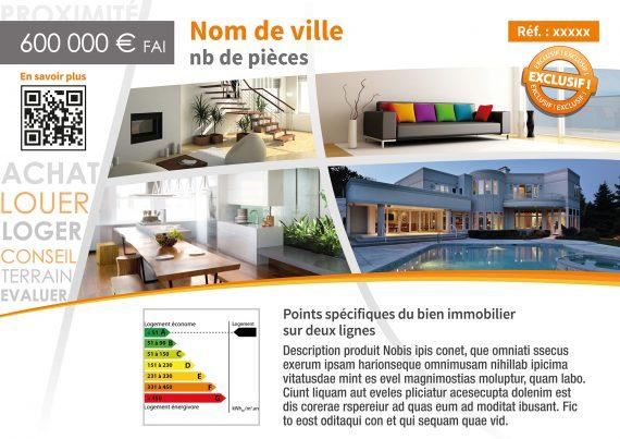 Histoire D'Home fiche vitrine vente ou location