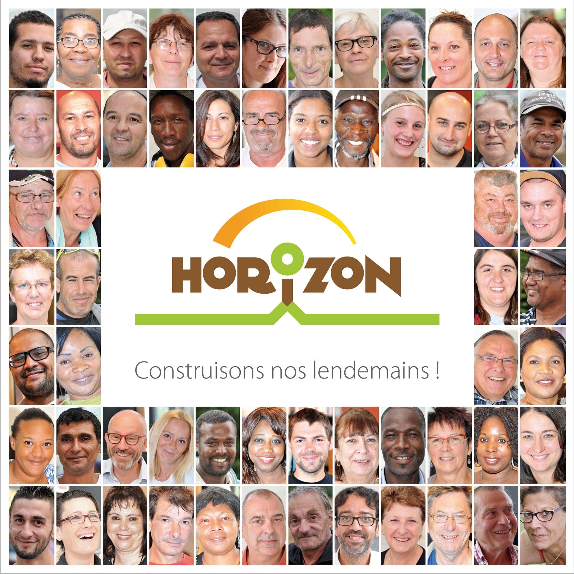 Couverture de la plaquette de présentation de l'association Horizon de Meaux