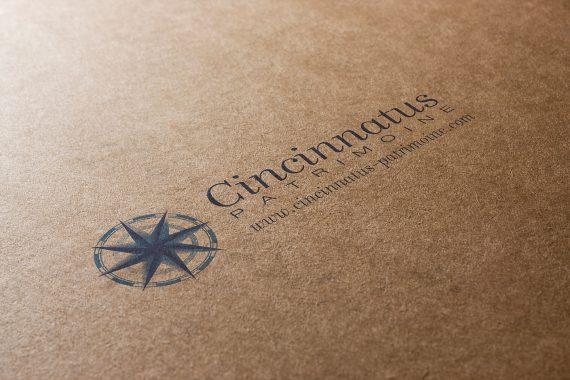 Création logo cincinnatus patrimoine