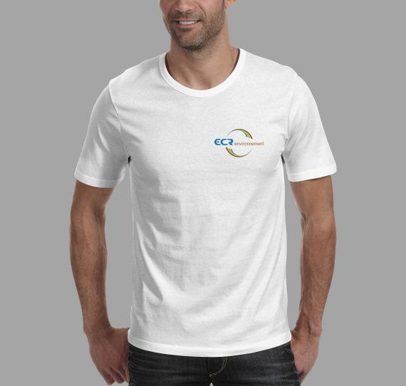Personnalisation de t-shirt pour le groupe ECR environnement