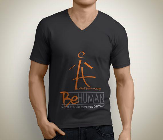 T-shirt personnalisés pour l'agence immobilière Histoires d'Home