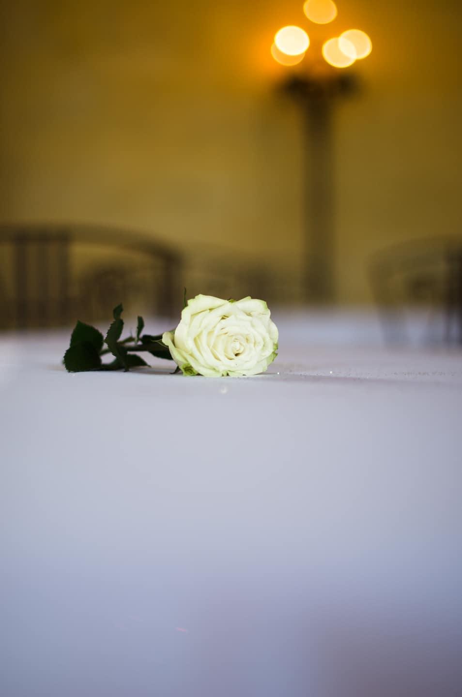 Rose du mariage préparé par France Prestige Services