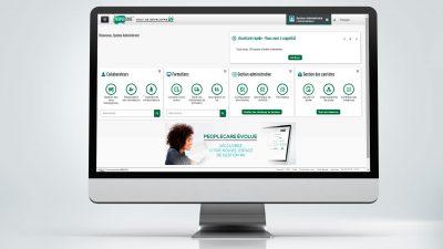 Mise en situation de la création d'une bannière web pour le site RH Crédit Agricole