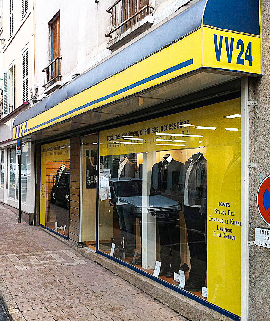 Marquage magasin VV24 Coulommiers
