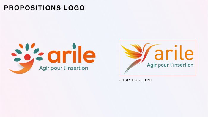 Propositions de logo pour l'association ARILE