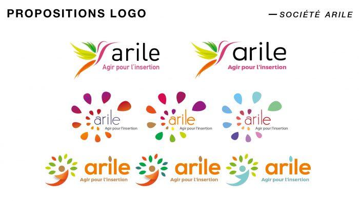 Propositions de logo pour l'association ARILE