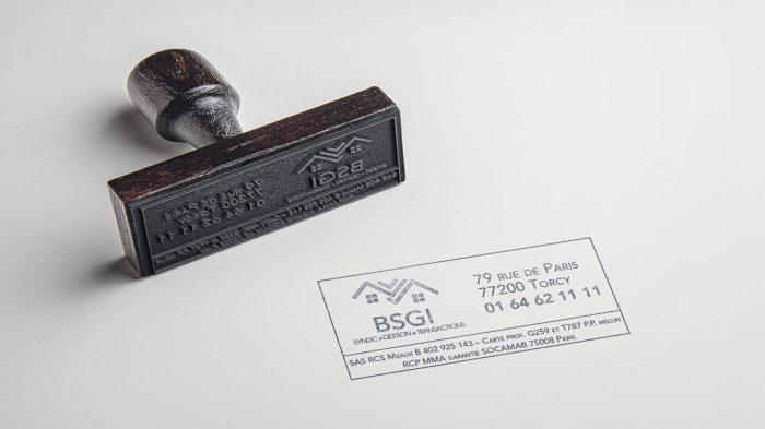 Tampon pour l'entreprise BSGI