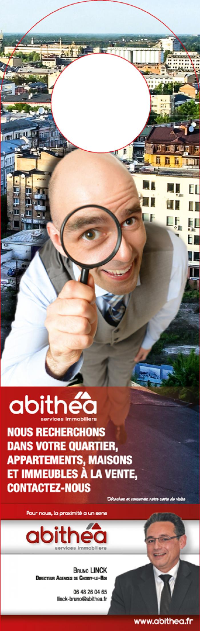 Accroche-porte pour la franchise abithéa